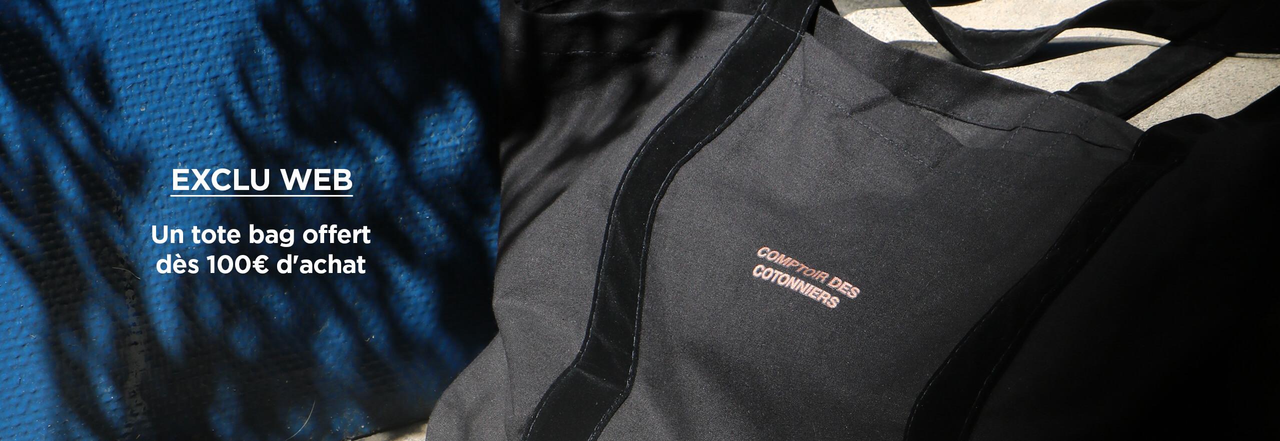 Un totebag Comptoir des Cotonniers offert dès 100€ d'achat