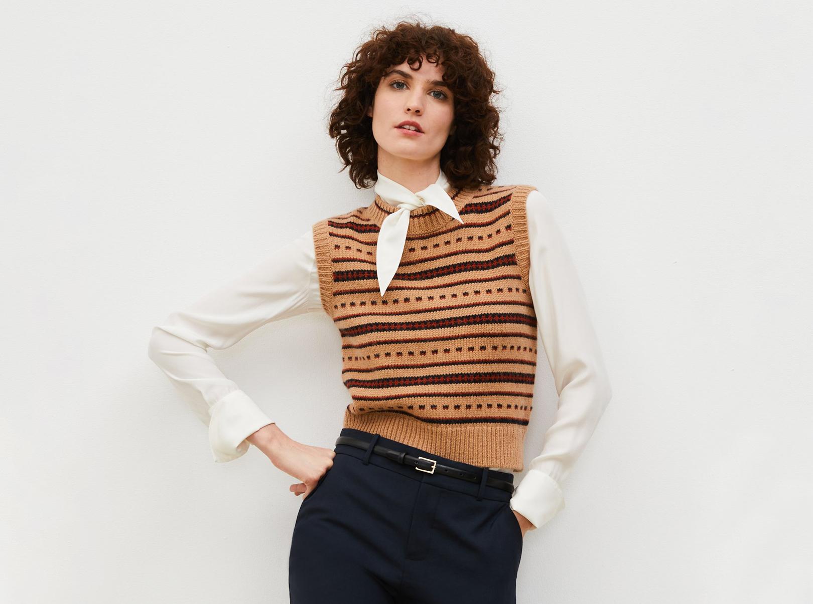 Alpaga Comptoir des Cotonniers veste femme