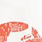 Sac en toile imprimé Valiant poppy Macaron