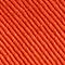 Bob en coton uni brodé Spicy orange Nook