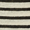 Pull rayé en lin Stripes buttercream black Logron