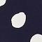 Blouse coupe droite Dots maritime blue Lerheu