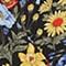 Haut cache-cœur imprimé Prairie black beauty Nachic
