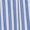 Jupe évasée en popeline  Stripes light grey persian jewel Louverot