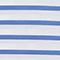 T-shirt en coton égyptien Stripes optical white amparo blue Lana