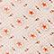 Chemise imprimée en coton Daisy seashellpink Nandes