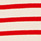 Pull marin en laine Stripes fiery red gardenia Liselle