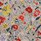Blouse cache-cœur en soie fleurie Print eden cream Mirebeau