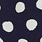 Robe fluide en viscose Dots maritime blue Legrais