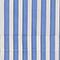Chemise en popeline de coton rayée Stripes light grey persian jewel Lavale