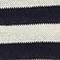 Pull rayé en maille Stripes maritime blue buttercream Licula