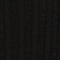 Cardigan à larges côtes en maille 3D Black beauty Lunery