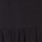 Robe col V Noir Ganael