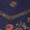 Foulard en soie format losange Night sky Nandana